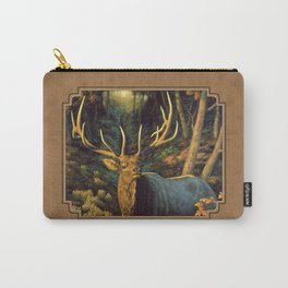 Bull Elk in Autumn Carry-All Pouch