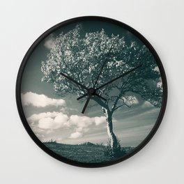 Lonely Tree Wall Clock