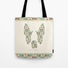 Boston Terrier: Circles. Tote Bag