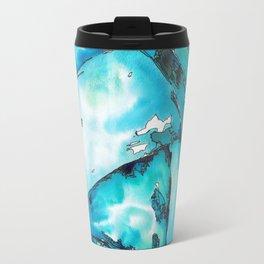 Blue Dreamland Travel Mug