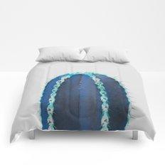 blue cactus Comforters