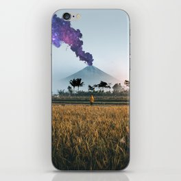 The Volcano iPhone Skin