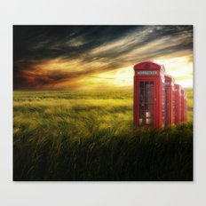 Now home to the red telephone box Canvas Print