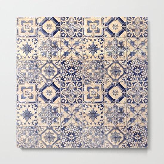 Ornamental pattern Metal Print