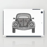 volkswagon iPad Cases featuring Tangled VW Bug by Cherry Creative Designs