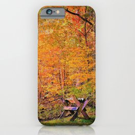 Autumn Magic iPhone Case