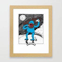 Cronus Framed Art Print