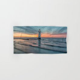 Lighthouse Sunset Hand & Bath Towel