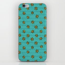 zuhur turquoise iPhone Skin