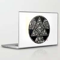alchemy Laptop & iPad Skins featuring Altered Alchemy by Christina Rivera-Scott