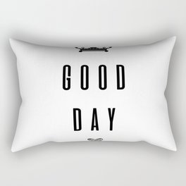 GOOD DAY Rectangular Pillow