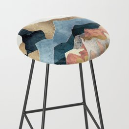 Golden Peaks Bar Stool