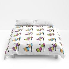High Heel Parade Comforters