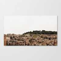 israel Canvas Prints featuring Israel 12 by SigChi