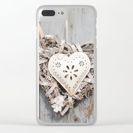 Sweet Heart | Amoureux Clear iPhone Case