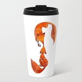 Kissing foxes Travel Mug