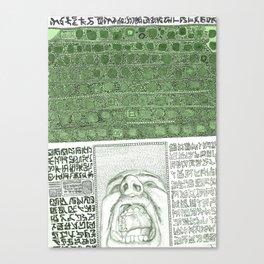 """""""AAAAAA"""" Canvas Print"""