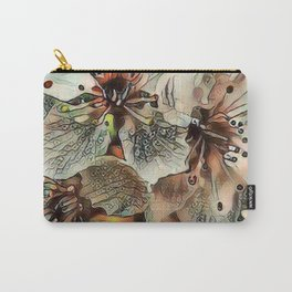 Toony World - Floral 5 Carry-All Pouch