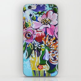 Graphic Floral 3 iPhone Skin