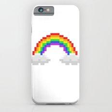 Pixel Rainbow iPhone 6s Slim Case