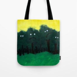 sad tr33s 4 dem in a forest Tote Bag