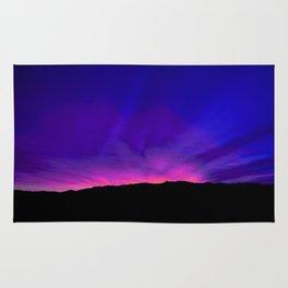 SW Mountain Sunrise - 6a4 Rug