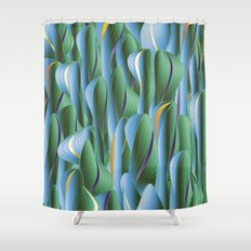 Another Green World Shower Curtain