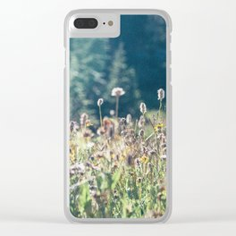 FALL FIELDS | 01 Clear iPhone Case