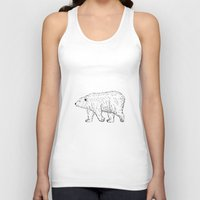 bears Tank Tops featuring Bears by Adam Lindfors