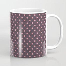 Cream Dotty Pattern Coffee Mug