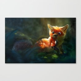 Not quite right Canvas Print