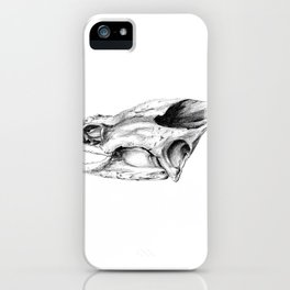 Snapping Turtle Skull iPhone Case
