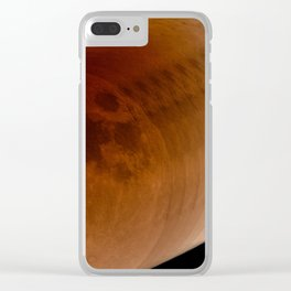 Lunar Eclipse, January 2018 Clear iPhone Case