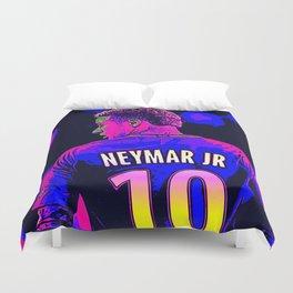 Neon Neymar Duvet Cover