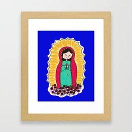 """La Guadalupana"" by Paisley In Paris™ Framed Art Print"