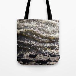 Torrent river Tote Bag