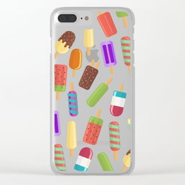 Summertime coolness Clear iPhone Case