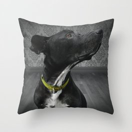 COBY (shelter pup) Throw Pillow