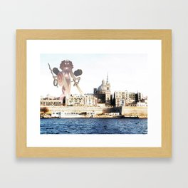 Spring Walks Framed Art Print