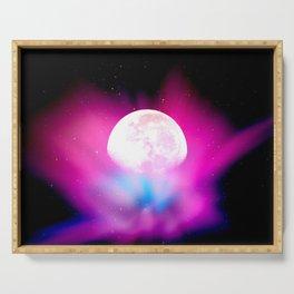 Nebula Moon Serving Tray