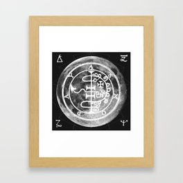 The Witches Moon Framed Art Print