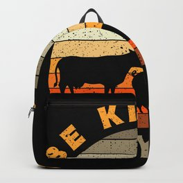 Be Kind To Every Kind Animals Vegan Gift Backpack