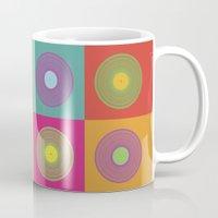 deadmau5 Mugs featuring Vinyl Pop Art by Sitchko Igor