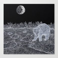 The Polar Bear Canvas Print