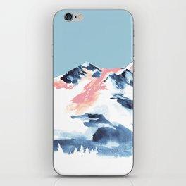 Pink Mountain iPhone Skin