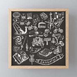 Saugatuck - Vacation Framed Mini Art Print