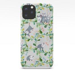 Possum Circles iPhone Case