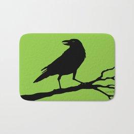 Raven - green/black Bath Mat