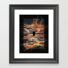 Midnight Fever Framed Art Print