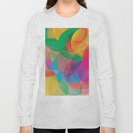 abstract circles Long Sleeve T-shirt